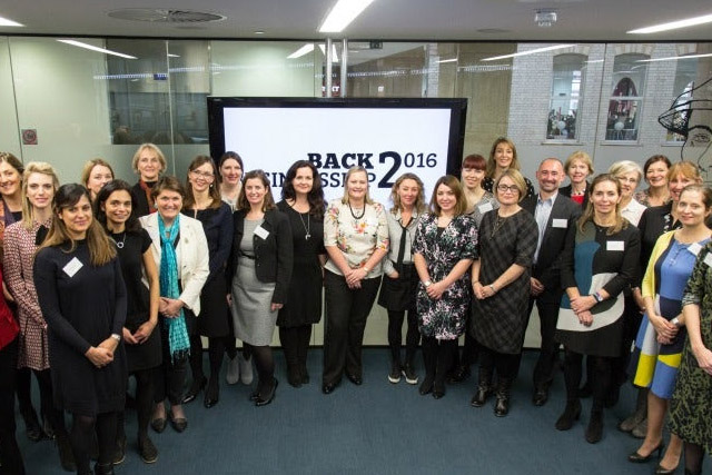 Participants in the 2016 back2businessship scheme