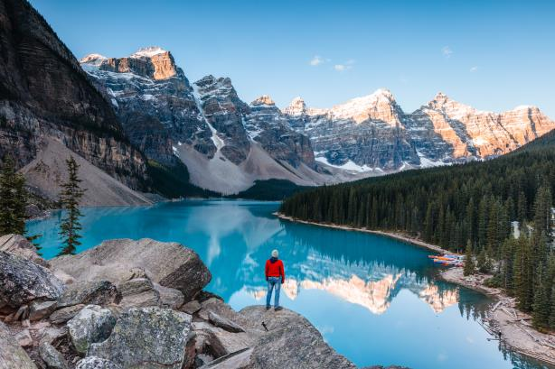 Banff National Park in Alberta, Canada (Photo credit: Getty Images)