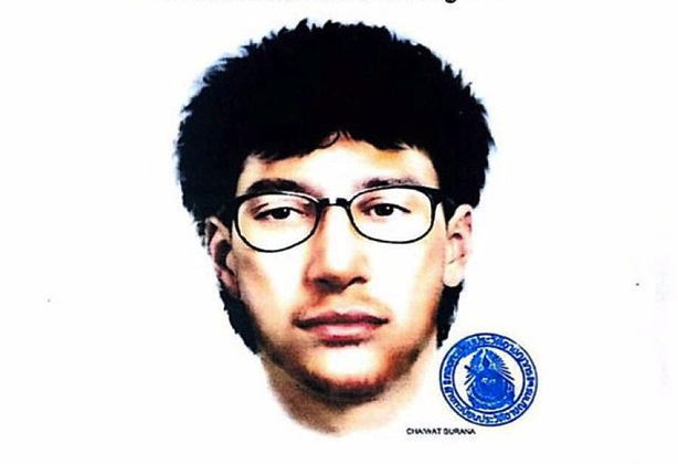 Police released this image of the suspected bomber