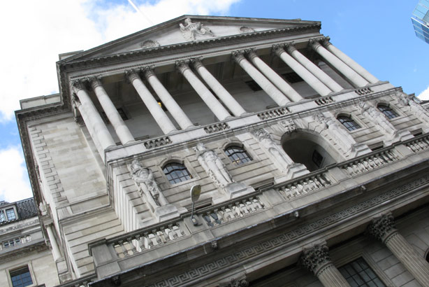 The Bank of England: Has worked with Parker Fitzgerald