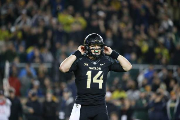 Baylor University quarterback Bryce Petty