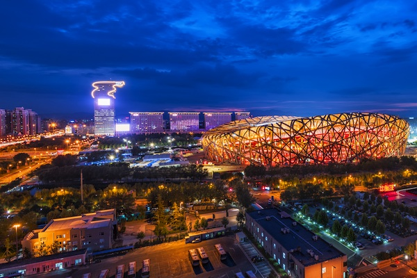 The Beijing 2008 summer Olympics. The city will be the first ever to also host the winter games in 2022