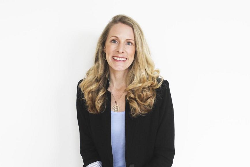 New Praytell global president Beth Cleveland.