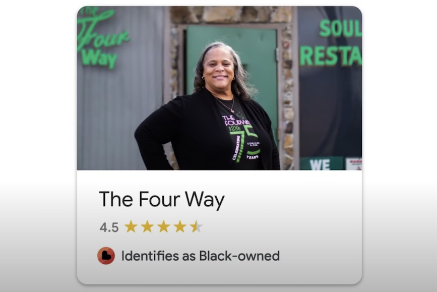 Google produced a film at the iconic Four Way restaurant in Memphis to mark Black History Month.