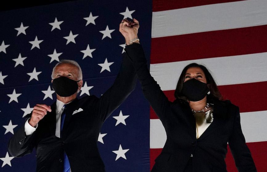 Kamala Harris Political Flag Biden for American $ Biden Harris 2020 Garden Flag