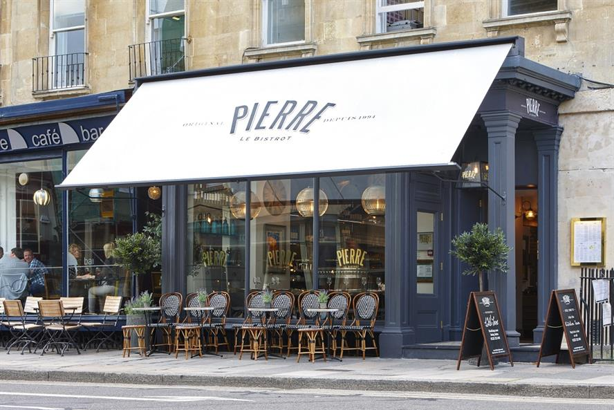 Le Bistrot Pierre: Its Bath restaurant is one of 13 outlets in the UK