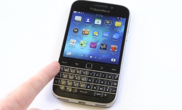 The BlackBerry Classic. (Image via Facebook)
