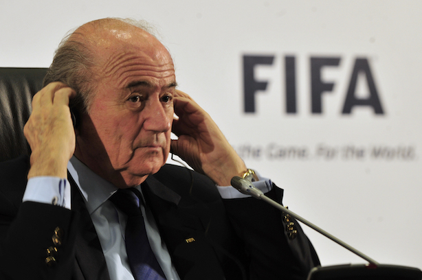 Embattled FIFA chief Sepp Blatter