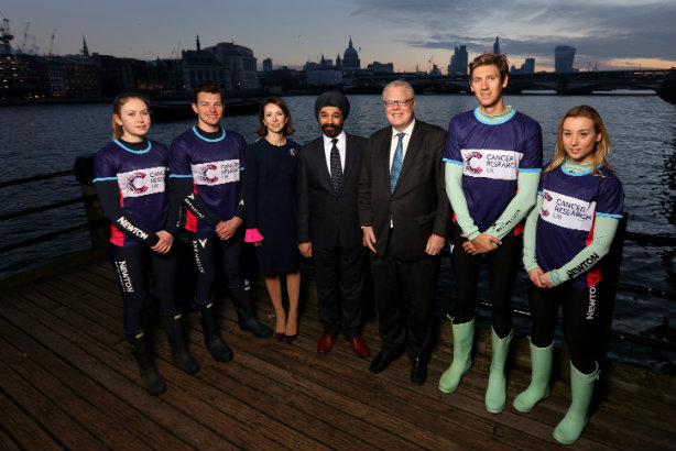 Boat Race: Partnering with Cancer Research UK