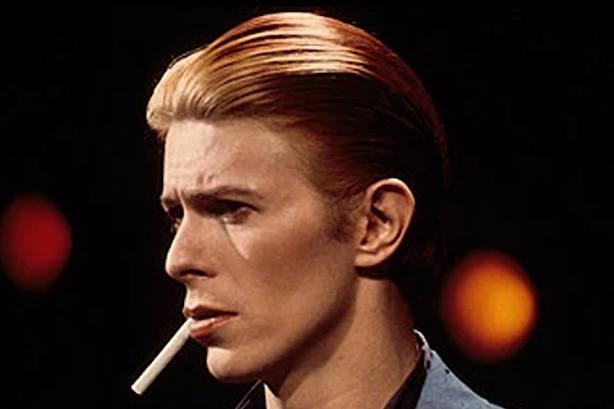 David Bowie. (Image via the artist's Facebook page).