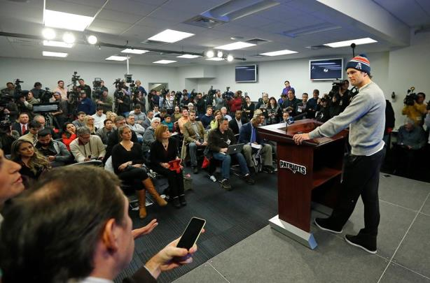 Tom Brady's Thursday afternoon press conference