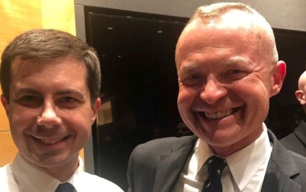 Winton had served as an adviser to Mayor Pete Buttigieg since leaving Alkermes in November.