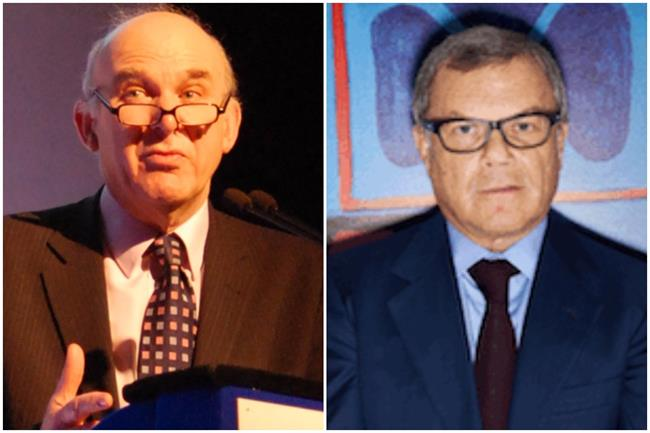 Knights clash: Cable, left, and Sorrell