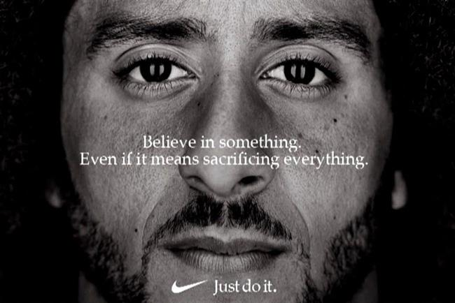 Nike's campaign starring Colin Kaepernick