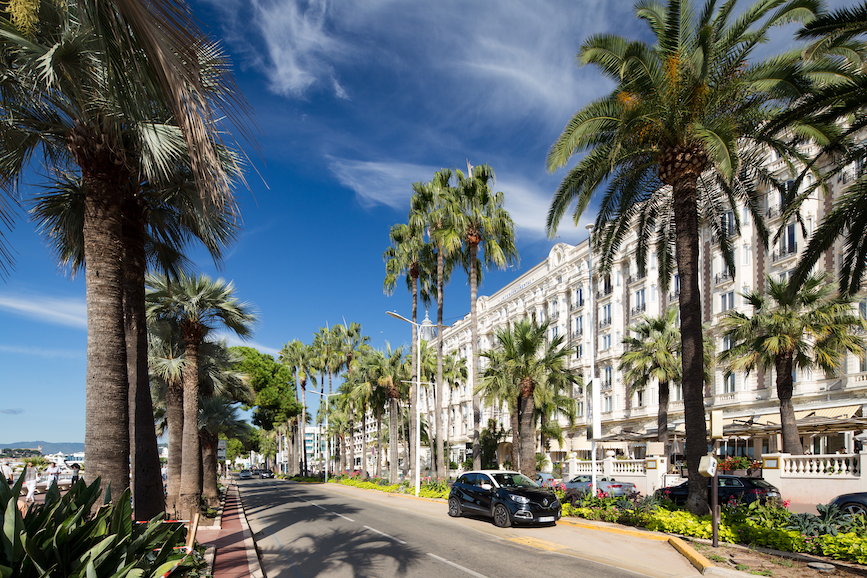 The streets of Cannes will be much emptier than usual this June, but agencies still have their eyes on awards. (Photo credit: Getty Images).