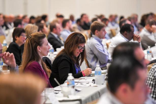 The audience at the #GIPS16 Conference put on by CFA Institute. (Image via the organization's Twitter account).