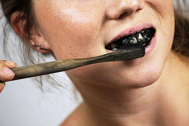 Dentists say there is no basis for claims that charcoal toothpaste whitens teeth (Pic credit: cerro_photography/Getty Images)