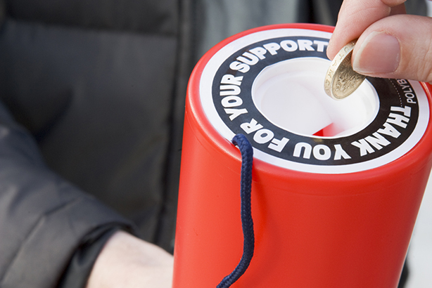 Recognition: The survey asked whether people had heard of or would donate to large UK charities
