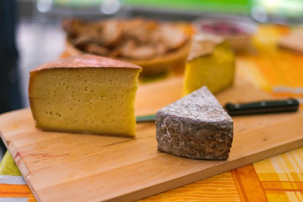 A typical cheese of Ticino, Northern Italy (Credit: Tambako The Jaguar via Flickr)