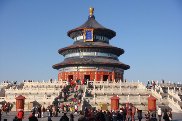 The Temple of Heaven in Beijing. (By Philip Larson - Beijing, China, CC BY-SA 2.0)