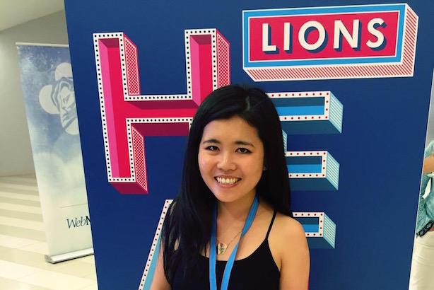 Young Lions Health Award winner Cece Chu.