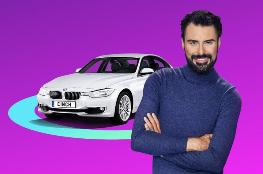 TV personality Rylan Clark-Neal has starred in cinch's TV adverts.