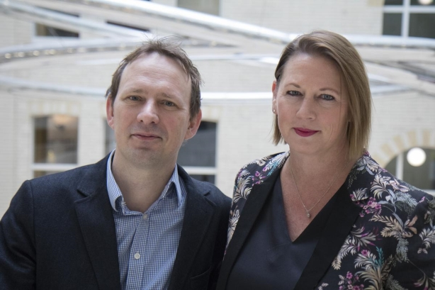 L-R: Current Global co-CEOs George Coleman and Virginia Devlin.