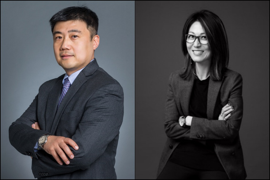 Mark Wang & Melinda Po