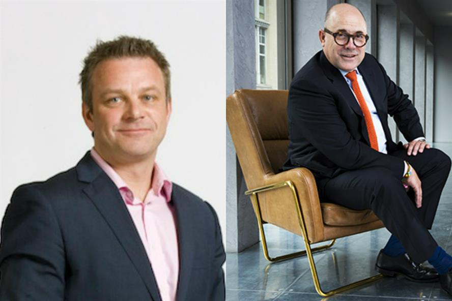 Corporate comms players: Fraser Hardie (left) and Chris Salt