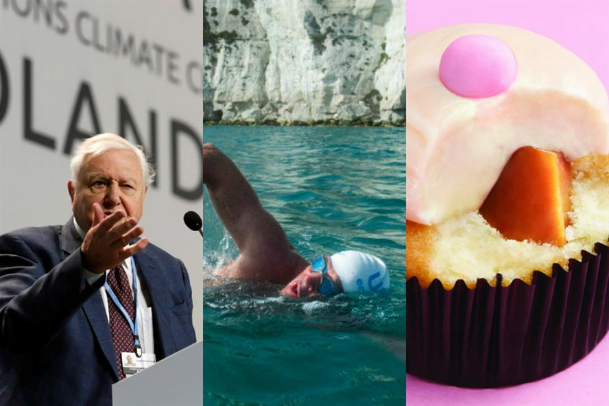 (L-R) Three of last year's winners: The People's Seat, by Grey London for the UN; The Long Swim – thinkBeyond Talent and Frank PR for The Lewis Pugh Foundation; cUUpcake by DNA Medical Communications for Roche