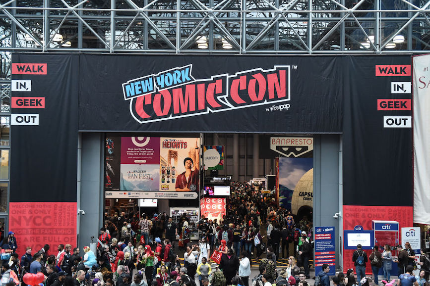 New York Comic Con 2019 (Photo credit: Getty Images)
