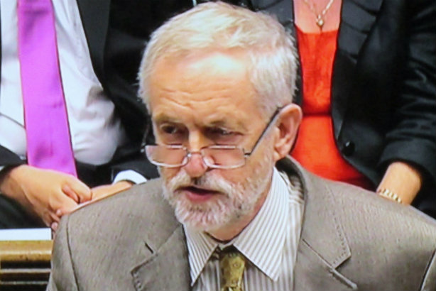 Corbyn: Improvement needed under the camera's glare? (Credit: David Holt via Flickr)
