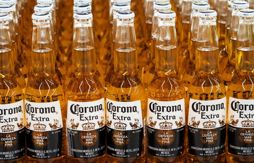 Corona says its customers aren't linking it to coronavirus. (Photo credit: Getty Images)