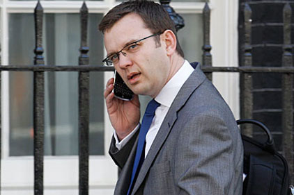 """Andy Coulson: Told reporters the """"right decision"""" had been made"""