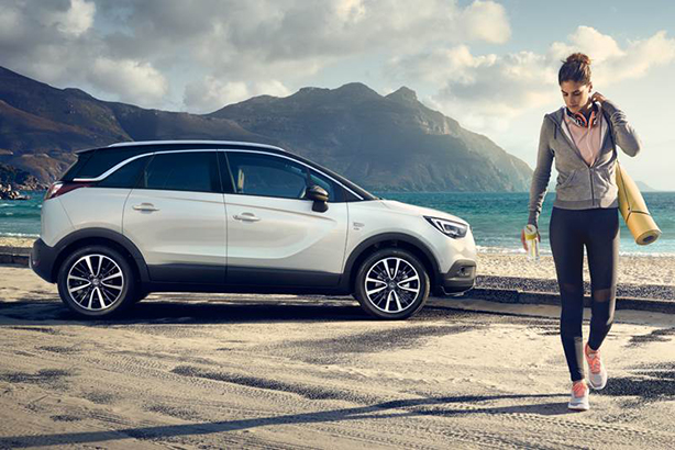 Vauxhall is stepping up marketing efforts on its SUV range, including the CrosslandX.