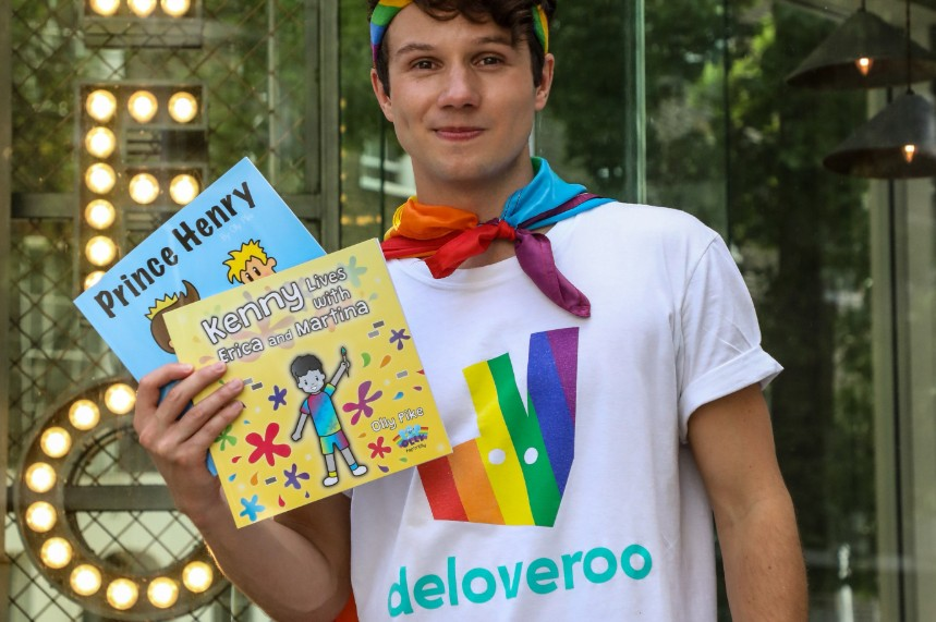 Leon and Deliveroo are running a free books campaign for Pride Month