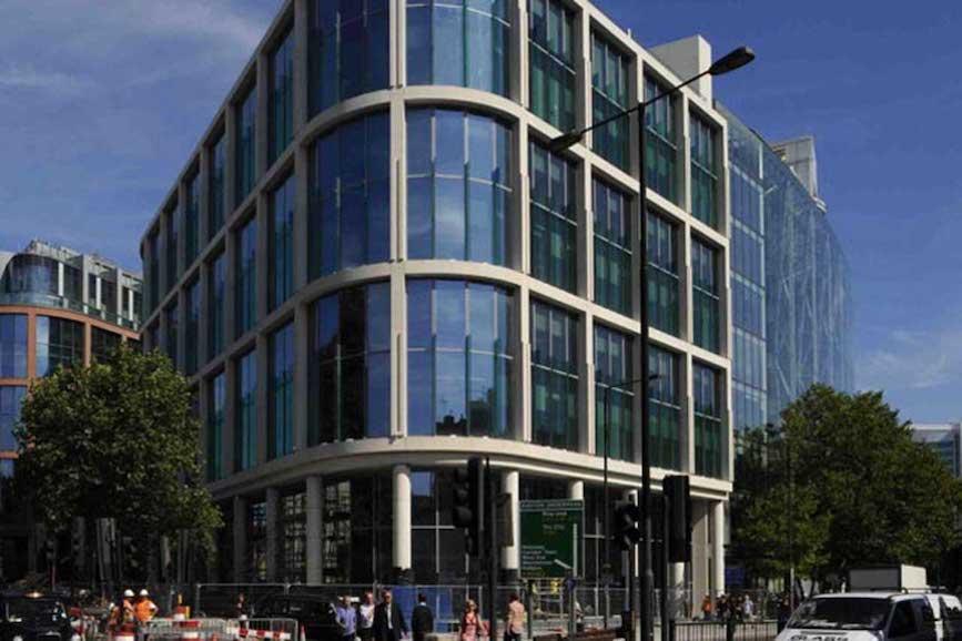 Dentsu's UK headquarters.