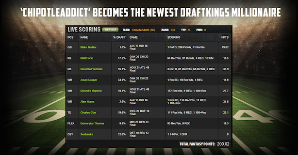 Image via DraftKings' Facebook page