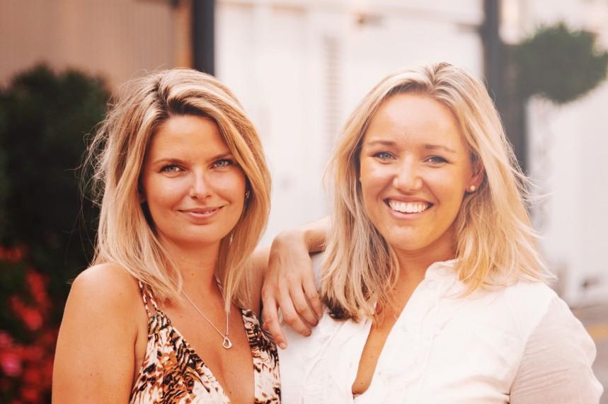 New venture (L-R): Saskia Leuchars and Amelia Clark