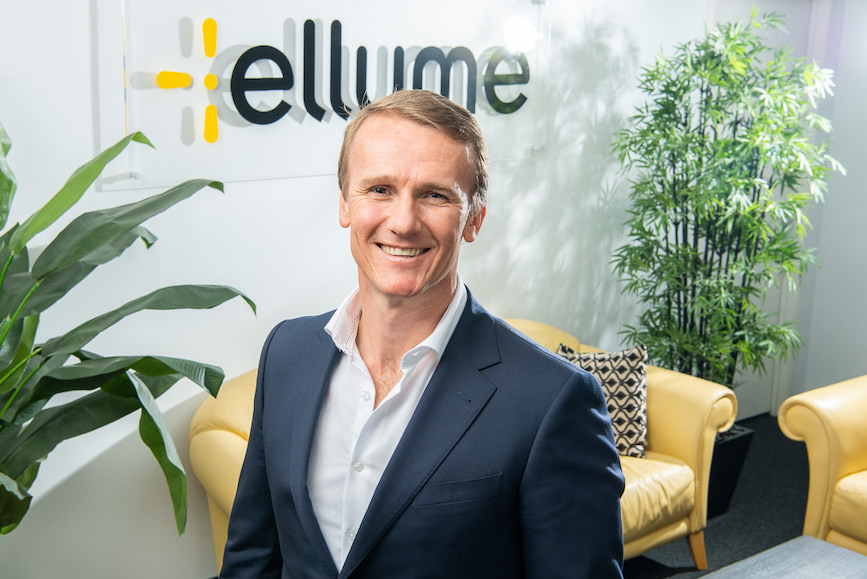 Sean Parsons, founder and CEO, Ellume