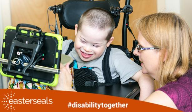 (Image via Easterseals' Twitter account).