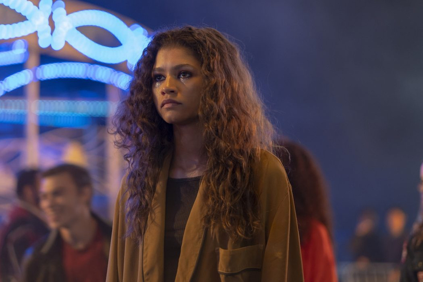 """The production house behind """"Euphoria"""" is hinting at plans to launch its own beauty line. (Photo: Courtesy of HBO.)"""