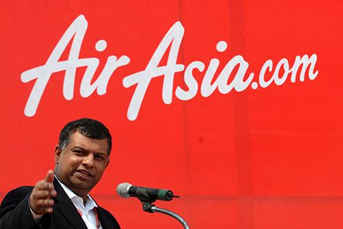 David Wilson says AirAsia CEO Tony Fernandes has given a lesson in crisis managment