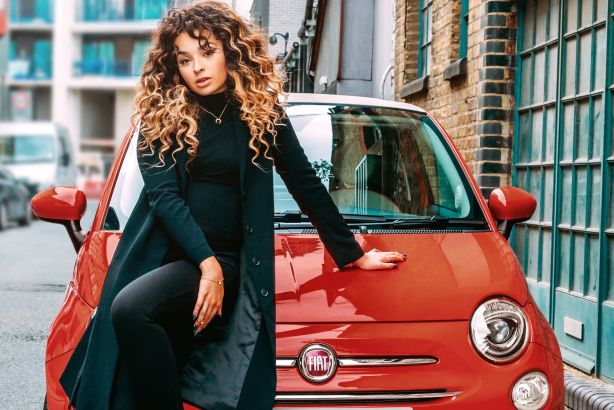 Fiat 500 launch with singer-songwriter Ella Eyre in London, September 2015
