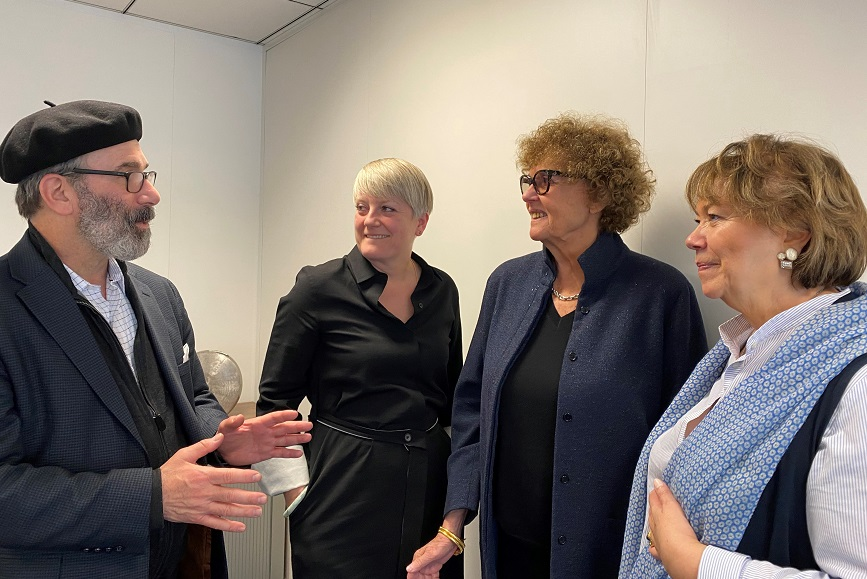 L-R: Gil Bashe, managing partner, Finn Global Health; Chantal Bowman-Boyles, managing partner, FINN, Europe; Mina Volovitch, senior partner, Health, Finn Europe; and Marie-Hélène Coste, MHC founding director, and senior partner, health, Finn, Europe