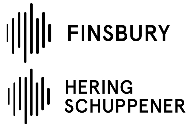 Allies: Finsbury and Hering Schuppener have new, matching logos