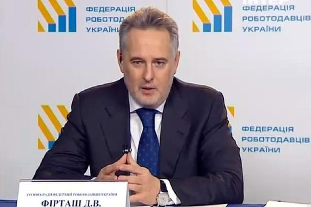 Dmytro Firtash. (Image via Wikimedia Commons; Source: Podrobytsi (Details) News Programming. 15.02.2015)