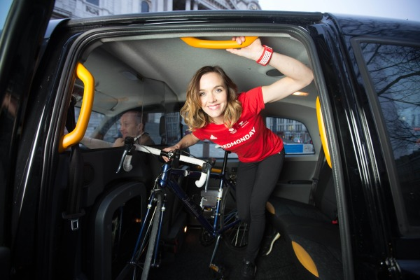 Victoria Pendleton: Customers can share a taxi with Olympian for Fitness First campaign