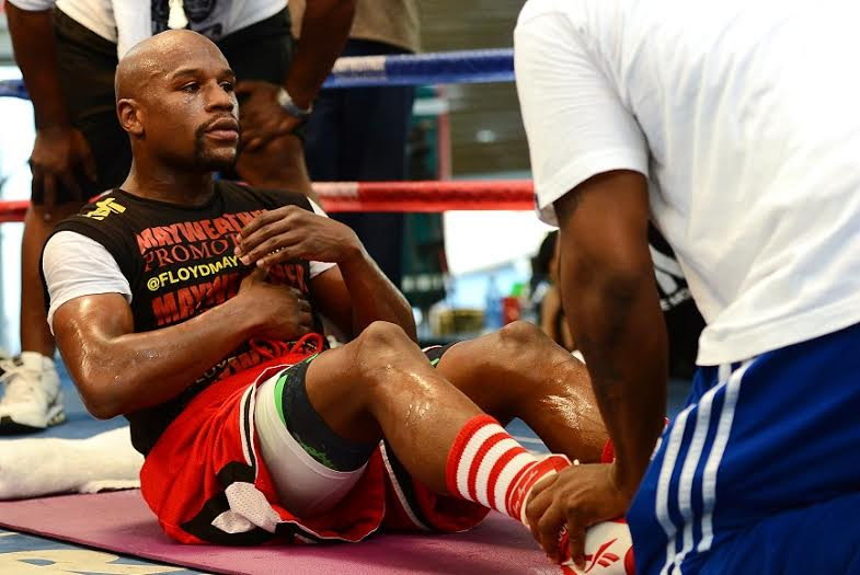 Boxer Floyd Mayweather (Photo by Ethan Miller/Getty Images)