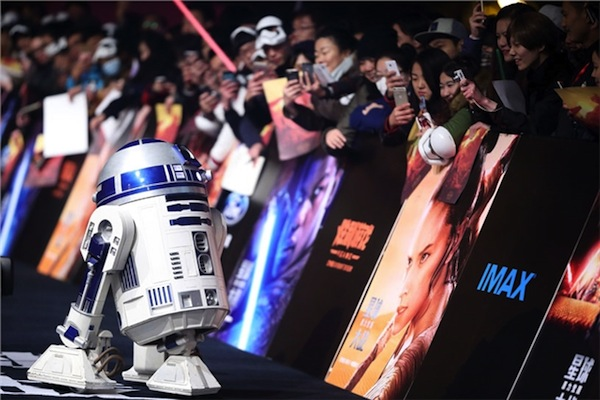 Putting the original Star Wars films online hugely boosted fan appeal in China